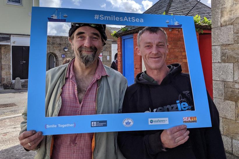 SeaFit and SmilesAtSea shortlisted for prestigious charity award