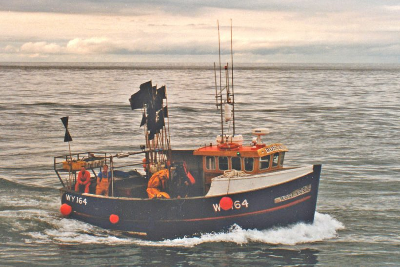 Roseanne: Cod netting off Whitby