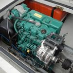 A Volvo Penta D2 engine, supplied by Marine Engineering (Looe) Ltd, was skipper Daniel Gilbert's choice. A forward PTO drives the Spencer Carter slave hauler.