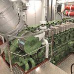 Aalskere's ABC 6DZ main engine.