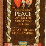 A book to celebrate peace after the end of the First World War was published by Hull City Council in July 1919.