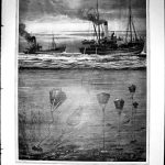 The 12 September, 1914 issue of The Illustrated London News carried this illustration of how minesweepers worked, as the war began. Minesweeping was one of the most dangerous jobs in the war, and the RNR skippers and fishermen in 'Harry Tate's Navy' had to deal with the constantly changing mine technology employed by the Germans.