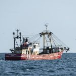 The Waterdance vessel William of Ladram begins fishing operations close to the Julie.