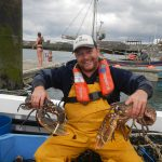 Skipper Daniel Gilbert will mainly target lobsters, using single pots rather than strings.