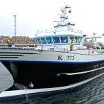 Aalskere's new hull design was developed by Ove Kristensen of Vestværftet ApS.