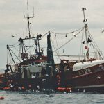 Ubique hauling the pair trawl back aboard…