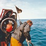 Picking up a double-flagged north dahn as hauling got underway within three hours of the nets being shot.