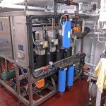 The Optimar slush ice machine can deliver 24t per day.