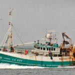 kipper Iain Harcus' first Aalskere, after being renamed Maranatha by Shetland skipper Angus Cumming.