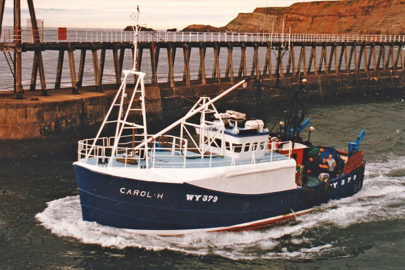 CAROL H: Whitby trawler targeting top-quality cod on local inshore grounds