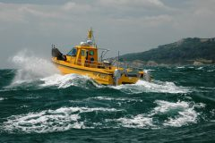 The 9.95m x 3.6m commercial fishing series on sea trials. All Cheetahs are designed to work well in rough sea states.