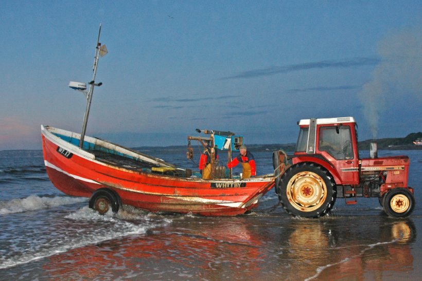 Gentle Barbara: Potting on beach-launched Filey coble
