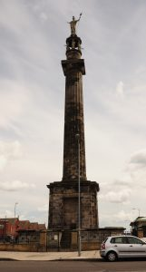 Nelson's column, Yarmouth style. That's actually Britannia on the top, but the sentiment stands.