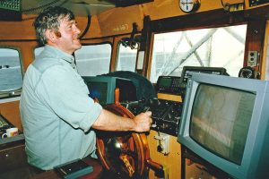 Skipper Peter Hansell.