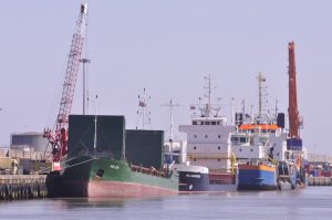 You get a different sort of kit in the river these days – mainly offshore supply ships, bulk carriers…