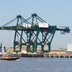 When they built the outer harbour a decade ago, they thought there might be container traffic…