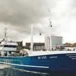 Daystar landing 95t of herring at Fraserburgh, little over 12 hours after leaving Broch harbour.