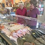 Now that the fish counter at Deli-Weli is open, local trade is on the up.