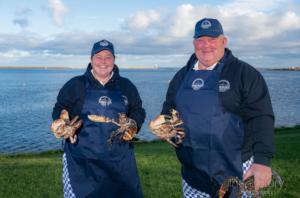 The team at Berwick Shellfish Company.