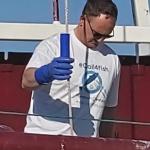 Crystal Sea skipper David Stevens.