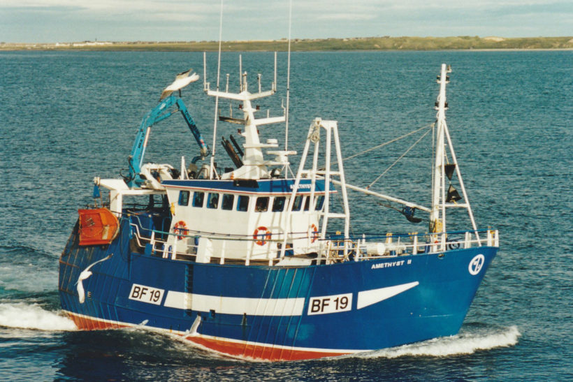 Amethyst II: New design of Fraserburgh prawn twin-rigger starts to show her potential