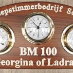 Scheepstimmerbedrijf Schrier fitted out Georgina of Ladram's accommodation and wheelhouse.