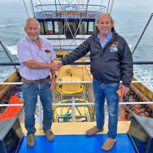 Building a new beam trawler has been a long-held ambition for Waterdance directors Robin and Rowan Carter.