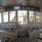 The view from the skipper's chair.