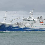 Chris Andra approaching Peterhead to land 430t of herring.