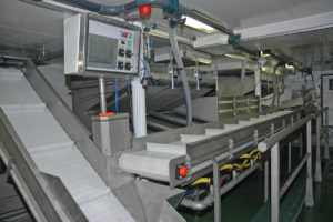 Ocean Harvest's integrated fish selection and washing system.