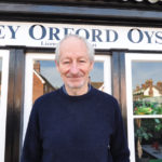 Bill Pinney at the family's Butley Orford Oysterage restaurant.