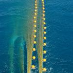 Jackson Trawls' pair-seine shows its underwater shape.