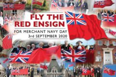 Last year, a Red Ensign was flown at over 1,000 locations across the UK.