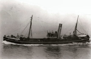… and Rockflower were part of the fleet of successful cruiser-sterned trawlers operated by the Yorkshire Steam Fishing Co in the early 1930s.