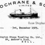 Cochrane's yard at Selby built many trawlers for the Hull and Grimsby fleets over the years.