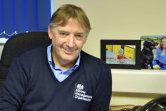 Paul Johnson, the MMO's principal officer in the South East, in his Shoreham office.