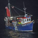 The Annalong-based Priscilla Jean hauling herring drift-nets.