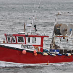 Cara Lee returning to Scarborough from the inshore grounds.
