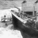 Another notable retaliatory action by a UK trawler occurred in April 1976, when the Hull trawler Arctic Corsair H 320 rammed the gunboat Odinn, badly damaging its stern.