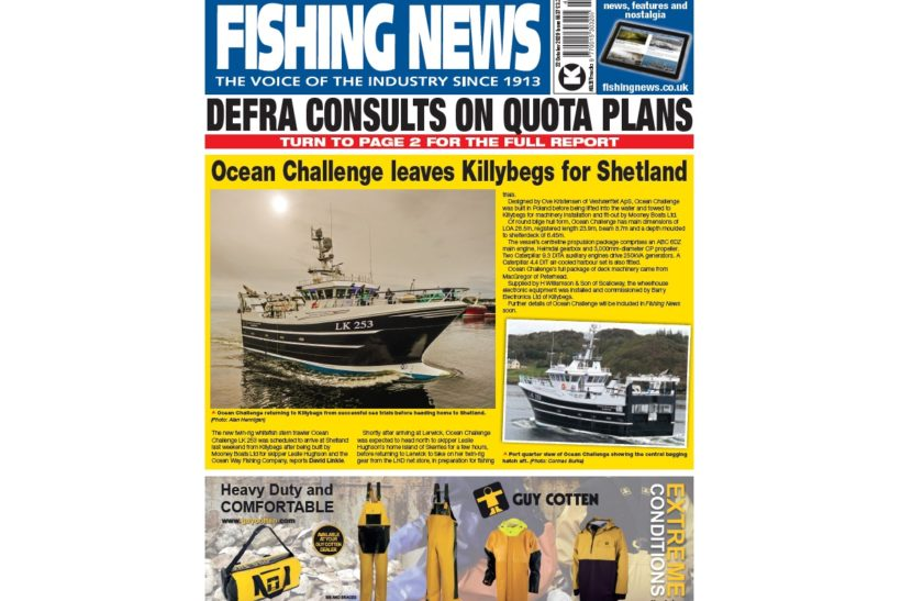 New Issue: Fishing News 22.10.20