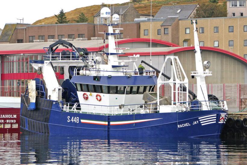 Lerwick harbour hosts wide range of mackerel boats