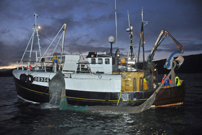 Caralisa and Rebecca Jeneen: Pair-trawling for West Highland sprats