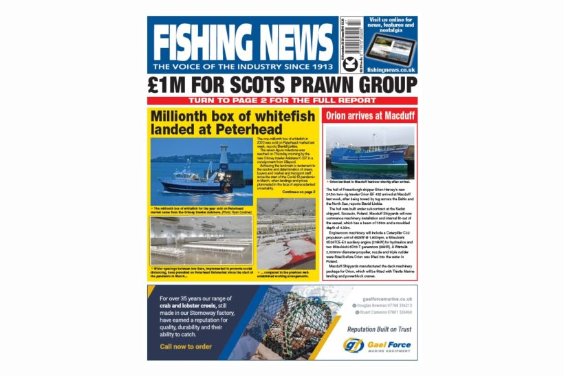 New Issue: Fishing News 19.11.20
