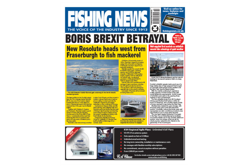 New Issue: Fishing News 14.01.21