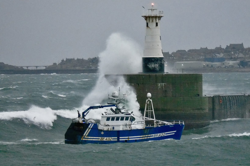 Stormy times at Peterhead