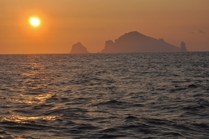 Fishing the blues: trawling along the deepwater edge west of St Kilda