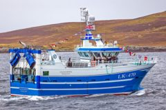 Courageous: New 28.1m whitefish stern trawler joins Whalsay fleet