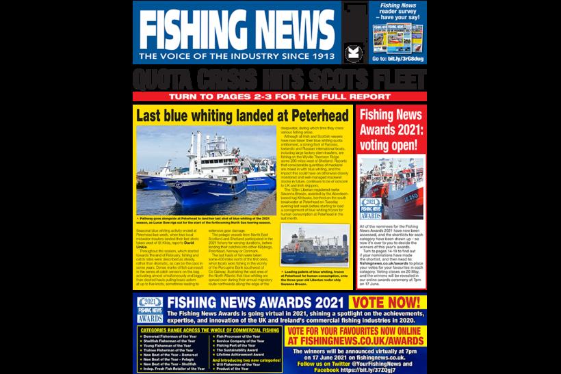 Quota shortages threaten viability of Scots whitefish fleet