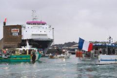 Navy patrol boats off Jersey as French threaten blockade