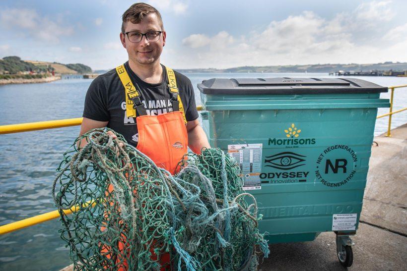 Marine scheme recycles 100t of waste gear